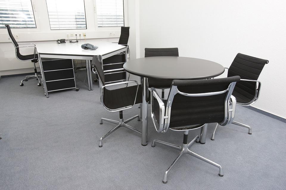 Кожен офис стол