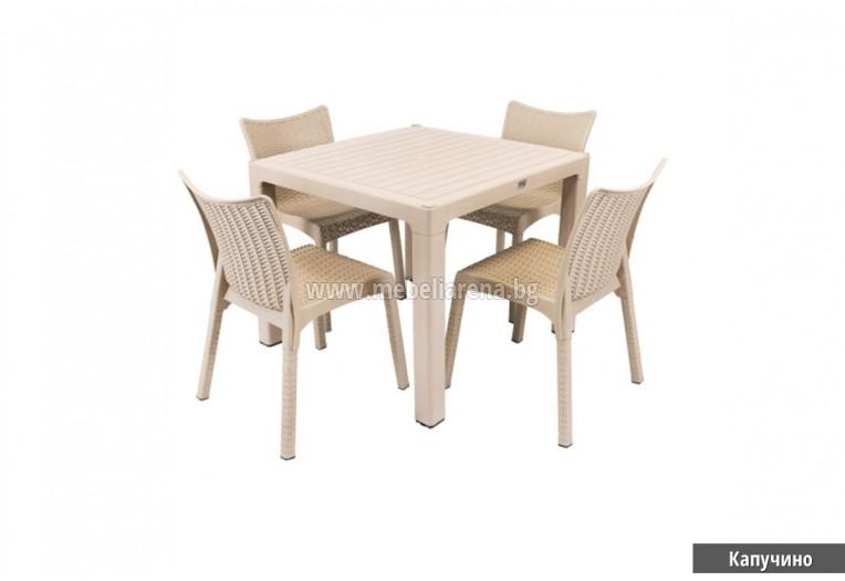 комплект градинска мебел